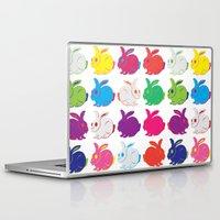 rabbit Laptop & iPad Skins featuring Rabbit by sudarshana