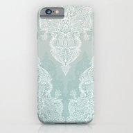 Lace & Shadows - Soft Sa… iPhone 6 Slim Case