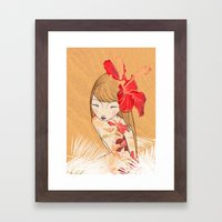 Sharinbai Framed Art Print