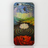Earth-and-Sky iPhone & iPod Skin