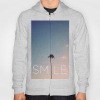Palm tree Smile Hoody