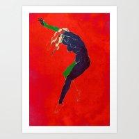 andromeda 2 Art Print