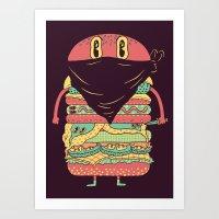 McRobber Art Print