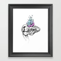 Gathering My Thoughts Fo… Framed Art Print