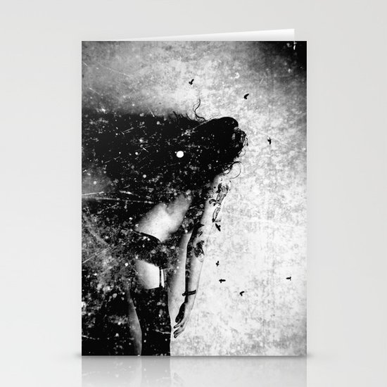 Nude art - time Stationery Card