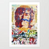Peace On Earth - Love - … Art Print