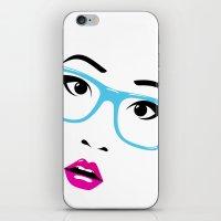 Huh? iPhone & iPod Skin