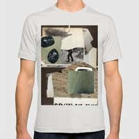 Practic 8 Mens Fitted Tee Silver SMALL