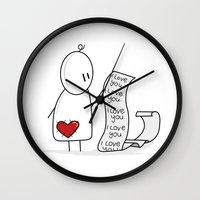 I Love You... A Lot. Wall Clock