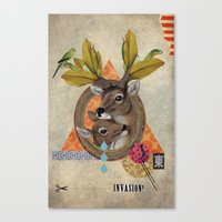 Animal Collection -- Oh … Canvas Print