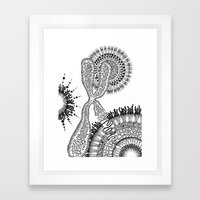 Chromosome Framed Art Print