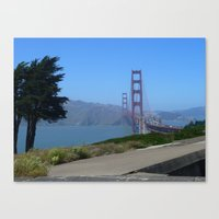 Golden Gate Bridge From … Canvas Print