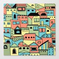 Flavella Canvas Print