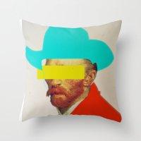 I wanna be a cowboy 3 Throw Pillow