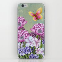 Fanciful Garden iPhone & iPod Skin