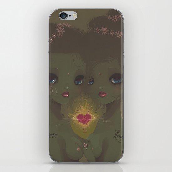 Love & Live iPhone & iPod Skin