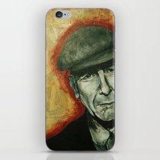 Leonard iPhone & iPod Skin