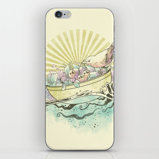 Unique Nesting iPhone & iPod Skin