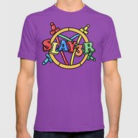 Slayer—For Kids! Mens Fitted Tee Ultraviolet SMALL
