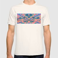 Sharks Tooth Mens Fitted Tee Natural SMALL