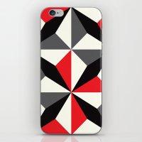 Black Diamonds On Red & … iPhone & iPod Skin