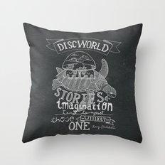 DISCWORLD Throw Pillow