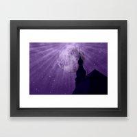 Starry Night - JUSTART �… Framed Art Print