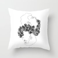 Between Poles II Throw Pillow