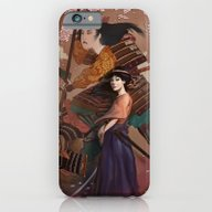 iPhone & iPod Case featuring The Spirit Of Tomoe Goze… by Rudy Faber
