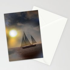Sailing To Heaven Stationery Cards