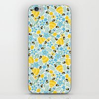 Busy Little Honeybees iPhone & iPod Skin