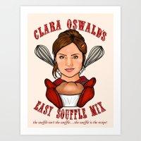 Clara Oswald's Easy Souf… Art Print