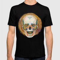 Another Skull Mens Fitted Tee Black SMALL