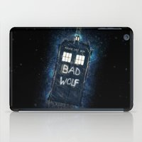 Bad Wolf TARDIS iPad Case
