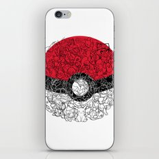 ONE BALL TO CATCH THEM ALL iPhone & iPod Skin