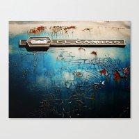 El Camino Canvas Print