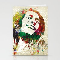 Reggae Music Man Stationery Cards