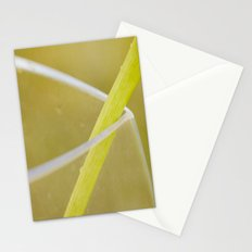 Green In Vase Stationery Cards
