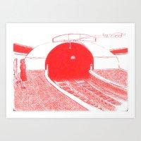 subway II Art Print