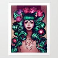 Delilah Art Print