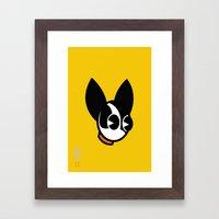 Dogbot Framed Art Print