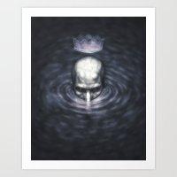 The Tyrant King Art Print