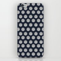 Glitter Pois iPhone & iPod Skin