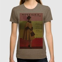 1961 Fall/Winter Catalog… Womens Fitted Tee Tri-Coffee SMALL