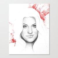 Debra Morgan  Canvas Print
