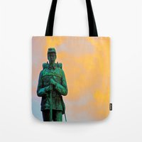A Soldier's Sunset Tote Bag