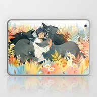 Laptop & iPad Skin featuring Cuddly Pack by Tirri