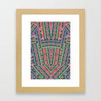 Watermelon Tribe Framed Art Print