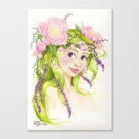Dryad Canvas Print