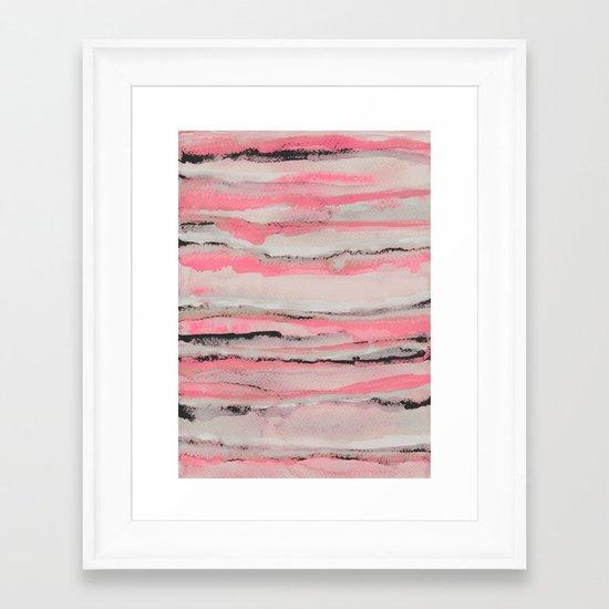 Layers Framed Art Print